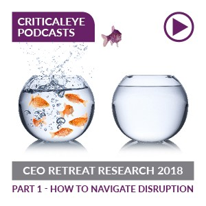 CEO Retreat Research 2018: Part 1 - How to Navigate Disruption